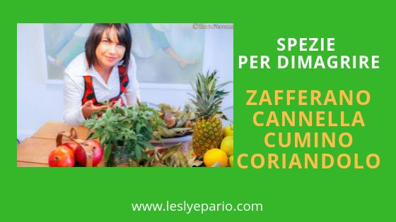 Spezie anticellulite e contro la pancia gonfia: zafferano, cannella, cumino, coriandolo