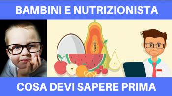 bambini e nutrizione