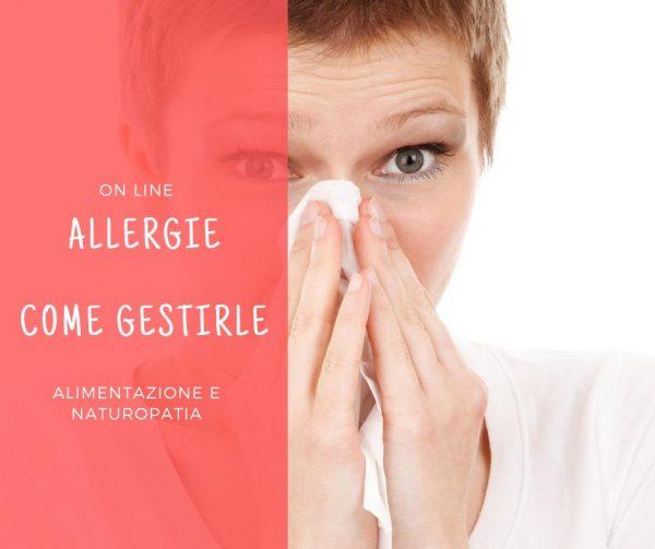 masterclass allergie come gestirle Leslye Pario